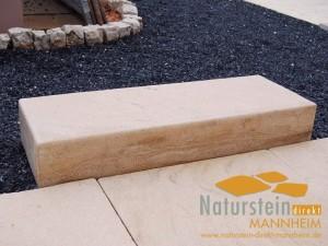 Kalkstein Blockstufen Mandarin
