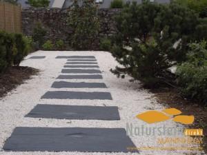 Schiefer Graphit Bodenplatten Toledo