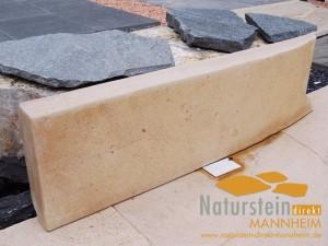 Kalkstein Palisaden Mandarin