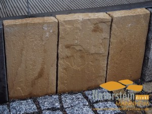 Sandstein Palisaden Mandala