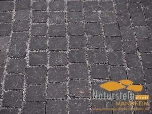 Basalt Pflastersteine Thao Black