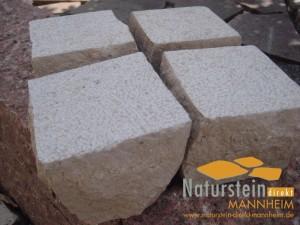 Kalkstein Pflastersteine Crema Ravenna