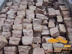 Sandstein Pflastersteine Mandala