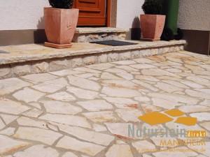 Kalkstein Polygonalplatten Dalmacija