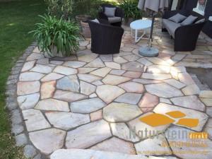 Quarzit Polygonalplatten Bahia