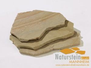 Sandstein Polygonalplatten Golden Sand