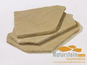 Snadstein Polygonalplatten Mandala