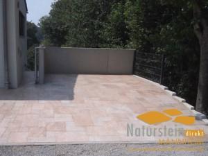 Granit Terrassenplatten Sun Gelb