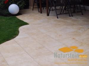 Kalkstein Terrassenplatten Sindbad Elegance