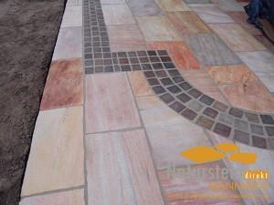 Quarzit Terrassenplatten Bahia
