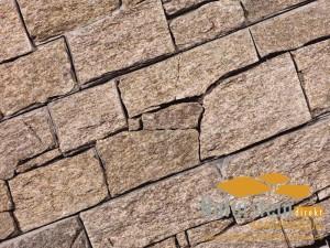 Granit Verblendsteine Rustica Sand