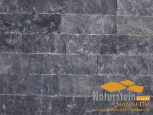 Marmor Verblendsteine Black
