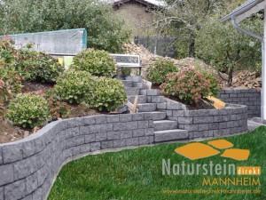 Basalt Mauersteine Sandokan