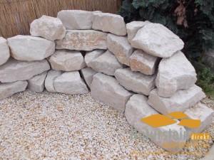 Kalkstein Mauersteine Mediterran Natural