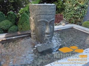 Wasserspiel Naturstein Mannheim
